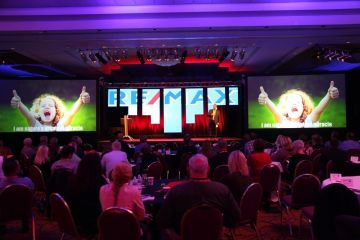 Corporate Meeting LED Screens